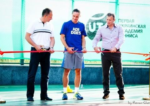 В «Новопечерских Липках» открылась академия тенниса